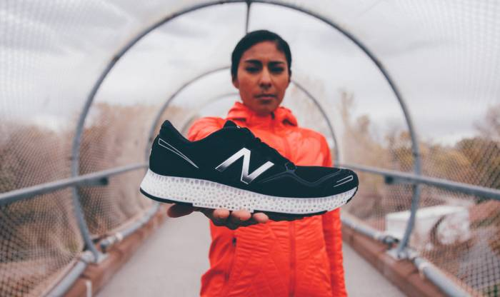 3d printed new balance shoe