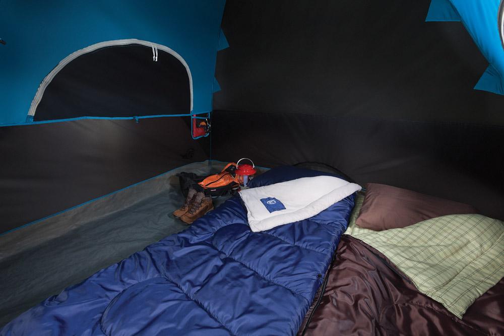 Carlsbad tent - interior
