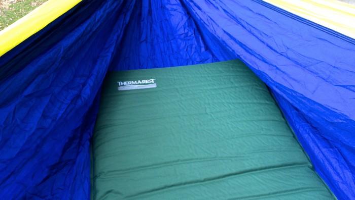 Sleeping Pad In Hammock