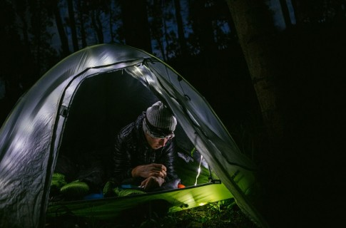 Big Agnes tent lights