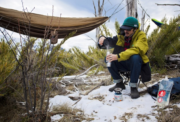 Boiling Water And Hammocking - Quick Tips: Stay Warm When Winter Hammocking