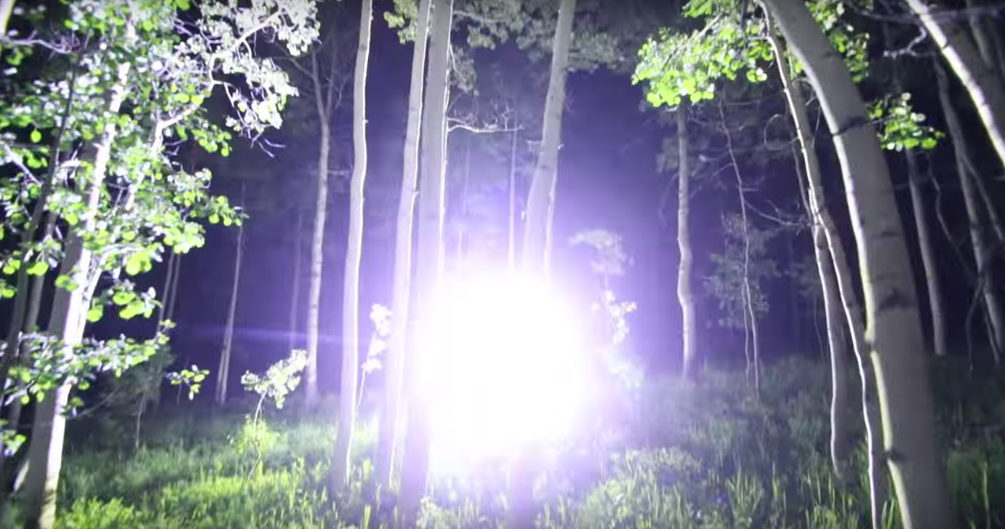 Overkill Check Out This 90 000 Lumen Flashlight