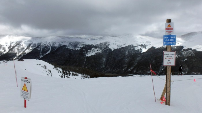 Spaulding Bowl, Copper Mountain