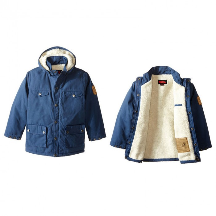 Fjallraven kids winter coat