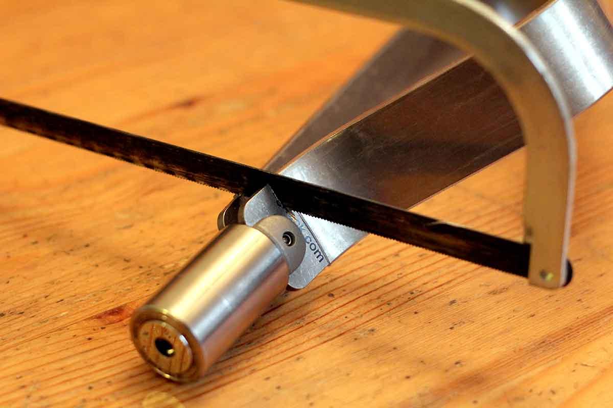 lock-sawed