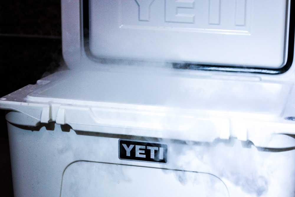 Liquid Dry Coolers : Deep freeze coolers dry ice gearjunkie