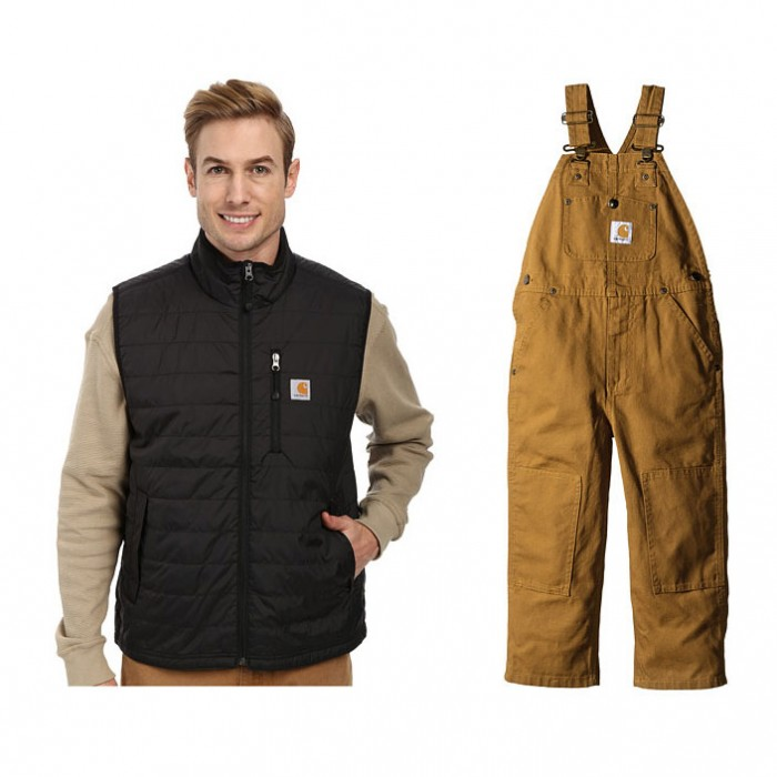 Carhartt Vest and Overalls