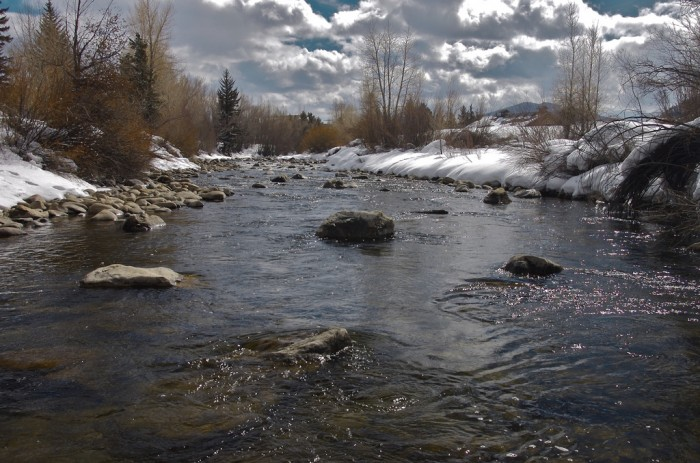 The Blue River in Colorado; photo by Dr.DeNo