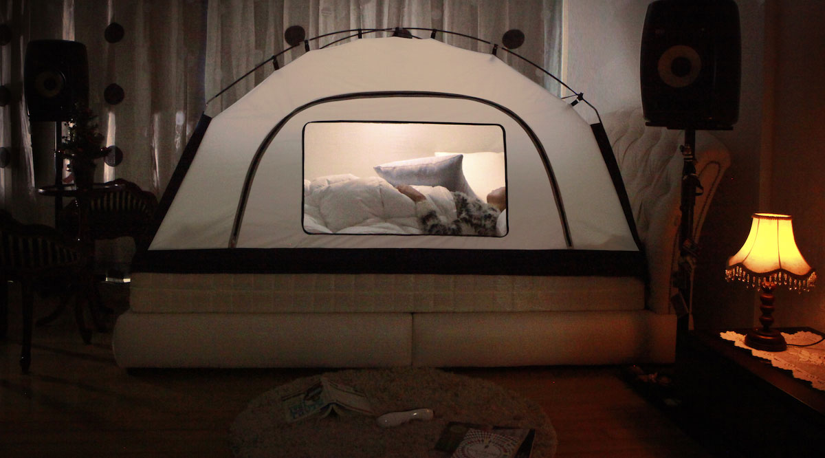 Pitch This Tent Indoors To Stay Warm This Winter