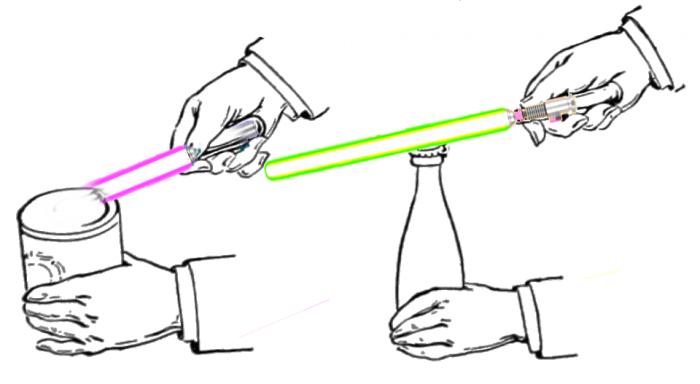 lightsaber can opener