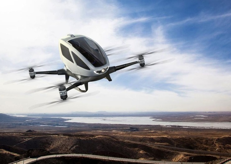 Passenger Drones To Carry People Thru The Sky