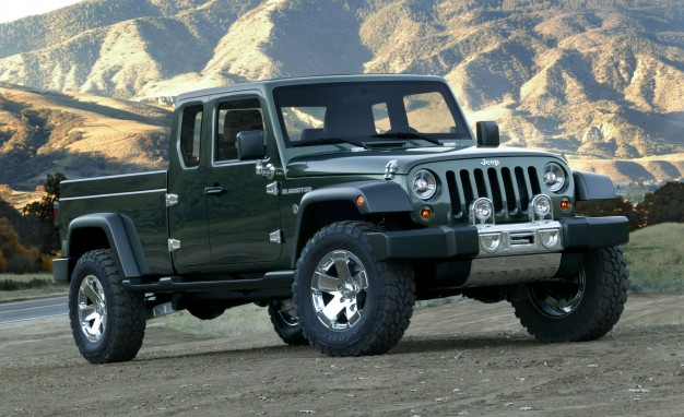 2016 Jeep Truck >> Jeep Pickup Truck Coming In 2017 Gearjunkie