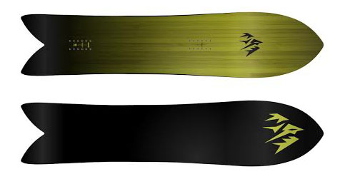 Jones Surfy Snowboard