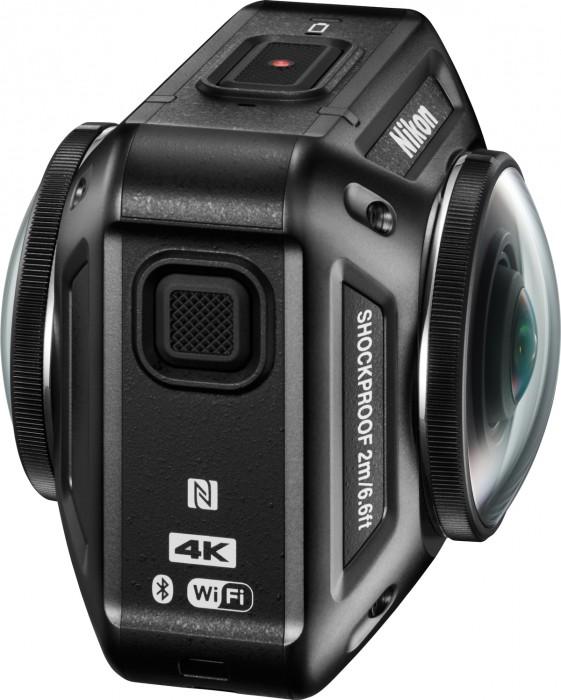 Nikon Introduces 360-Degree Action Cam