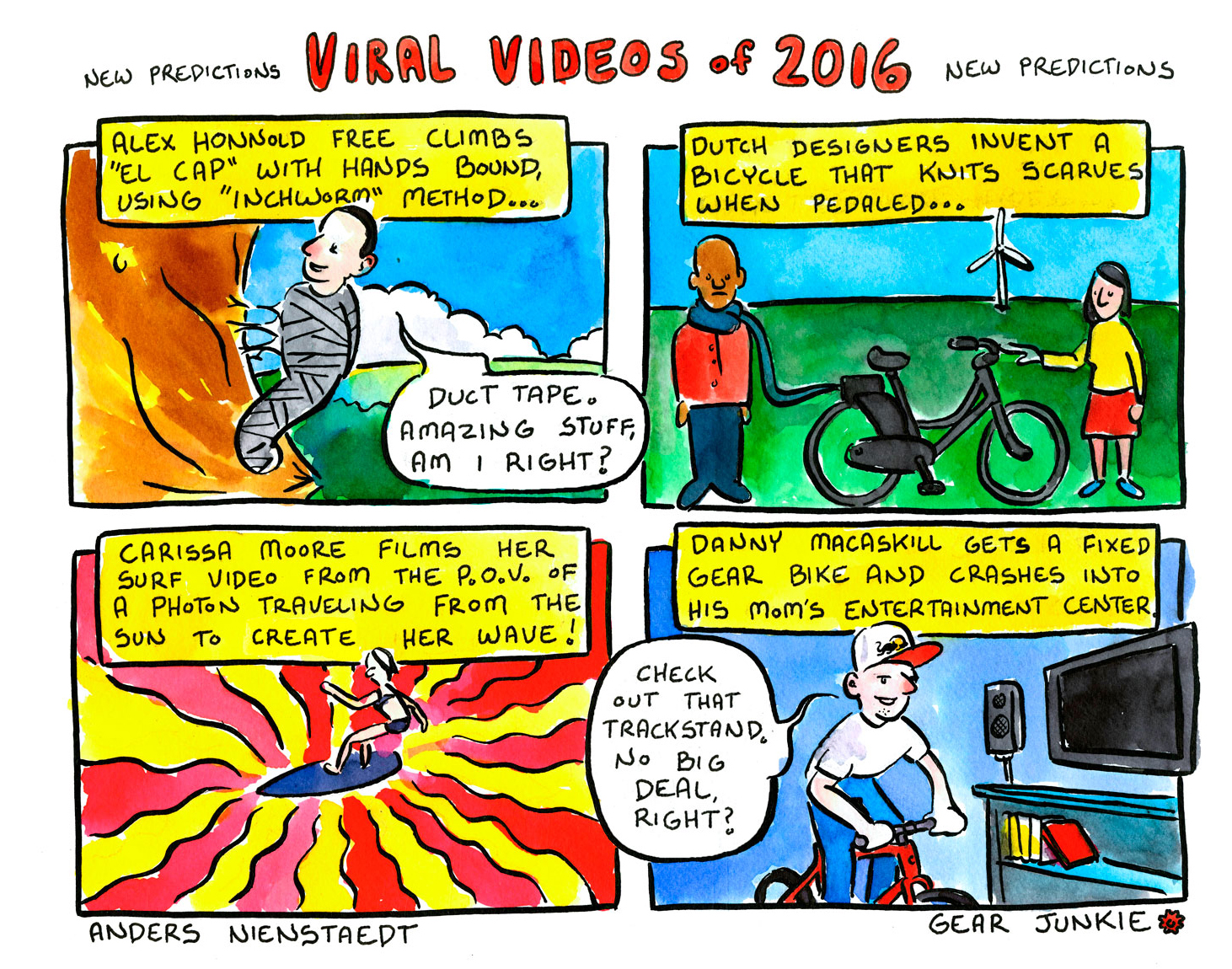 Viral Stories Of The Web 2016