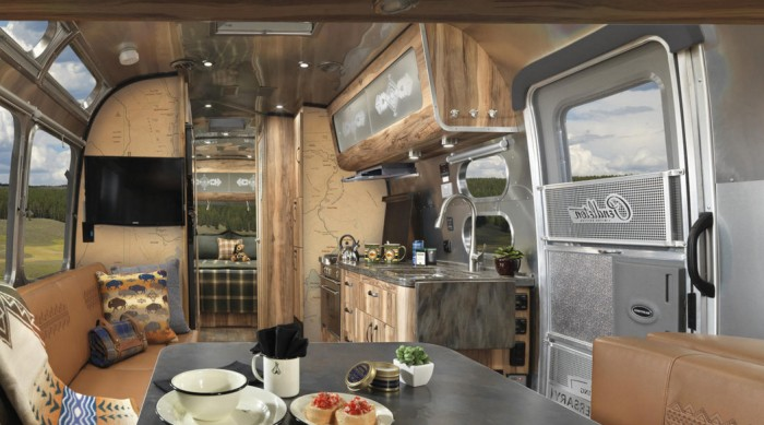airstream pendleton interior
