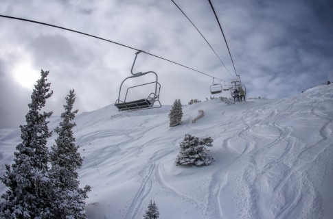copper mountain chairlift