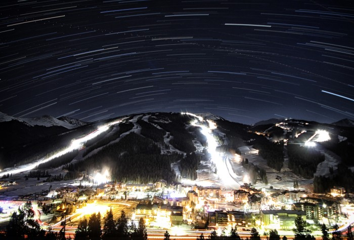 copper mountain night