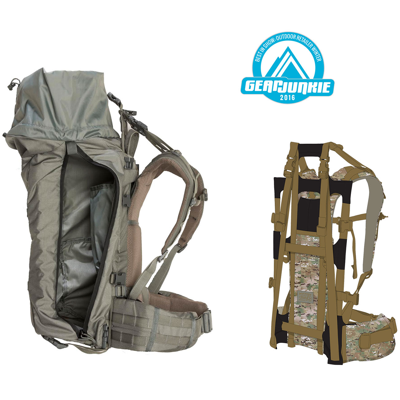 Best Hunting External Frame Packs