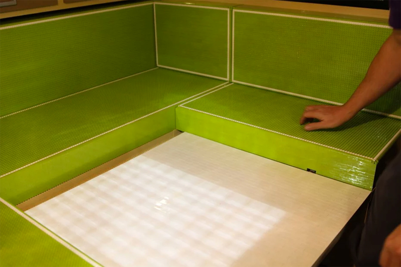 lego foldout bed