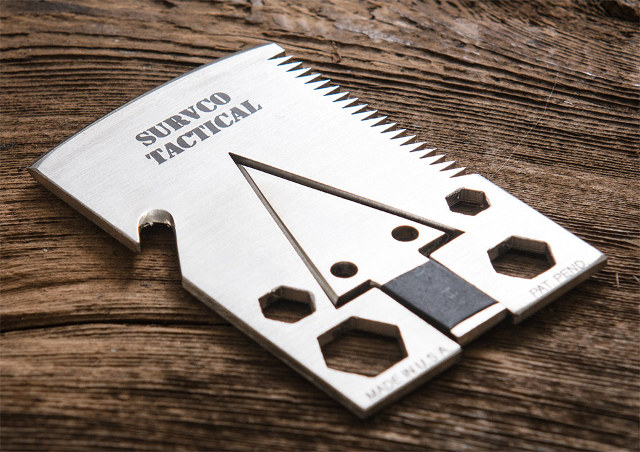 tactical credit card axe