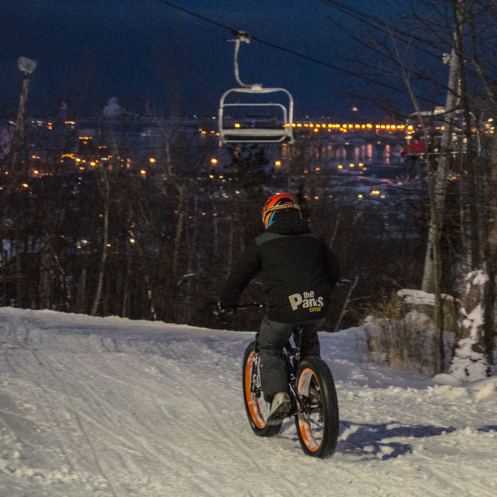 winter-fat-biking-ski-area-lift-access-spirit-mountain-duluth