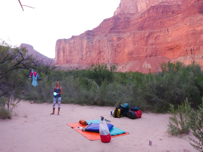 Colorado River Float Camp
