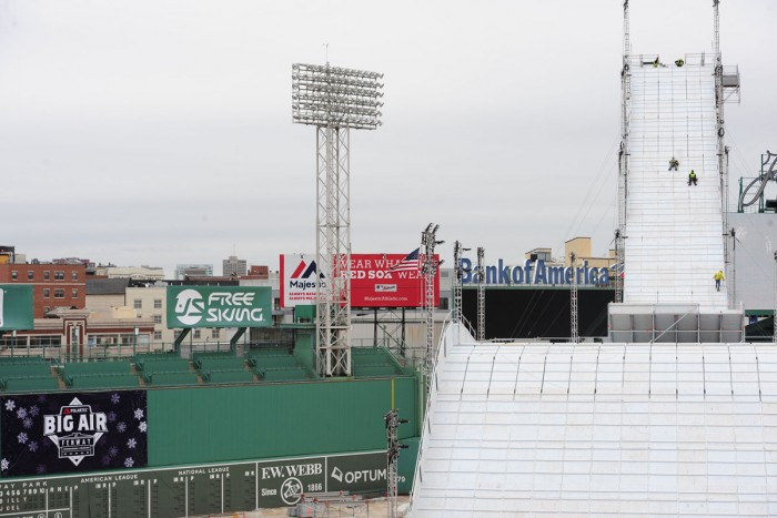 Fenway Park Big Air