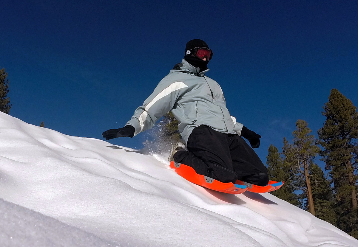 'Sled Legs' Are New Way To Snow Slide