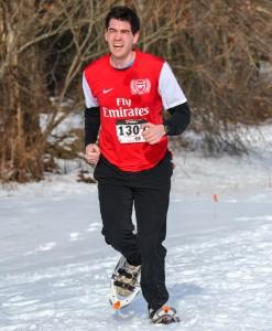 Snowshoe Running 2