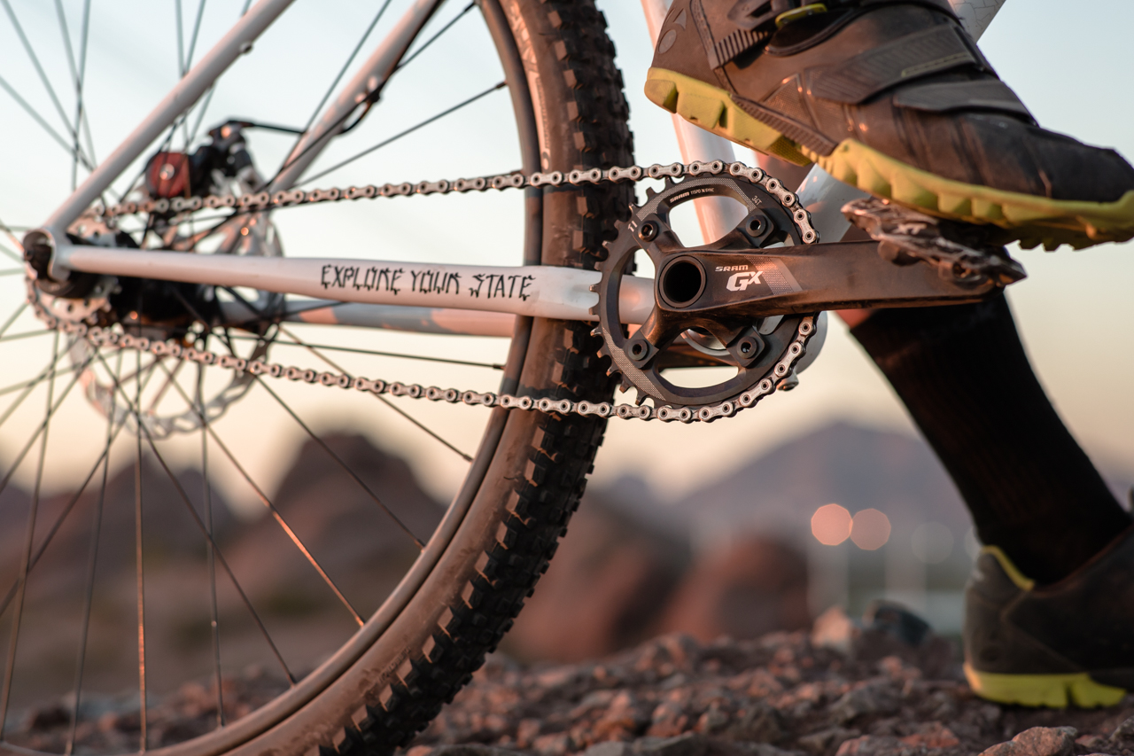 State Pulsar single speed mountain bike