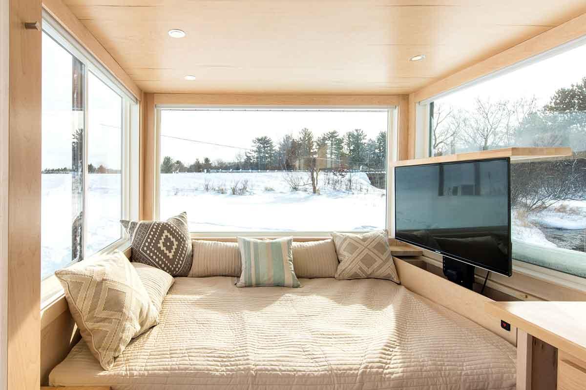Towable Tiny House Cabin On Wheels Gearjunkie