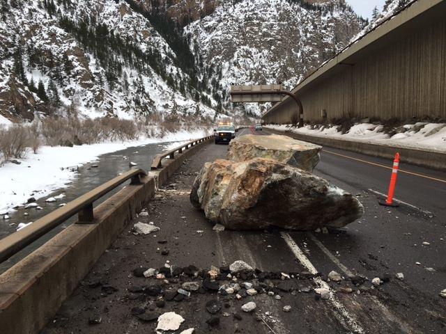 boulders on i70