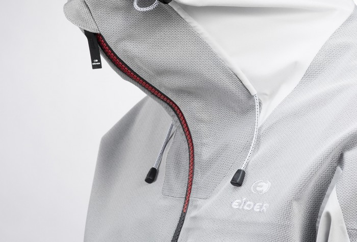 eider shaper jacket zipper