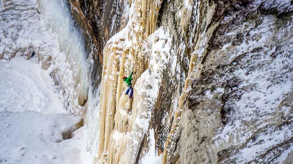 ice-climb