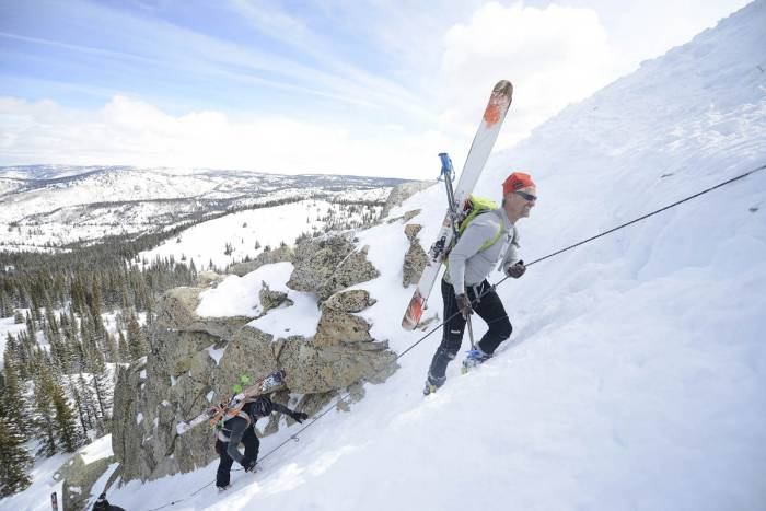 ski mountaineering training