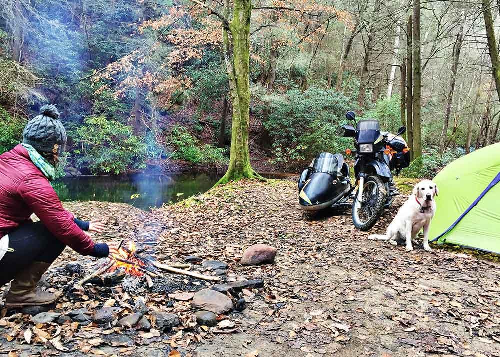 tending-campfire
