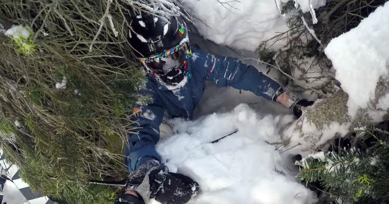 Video Shows The Danger Of Tree Wells | GearJunkie
