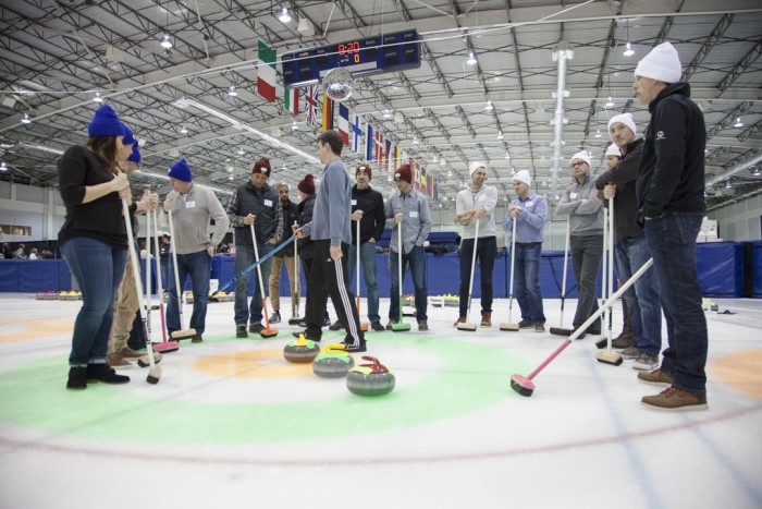 Vibram Curling Event