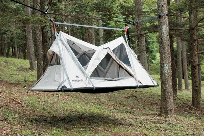 Snow Peak Sky Nest & Elevated Camping: Meet The Snow Peak u0027Sky Nestu0027