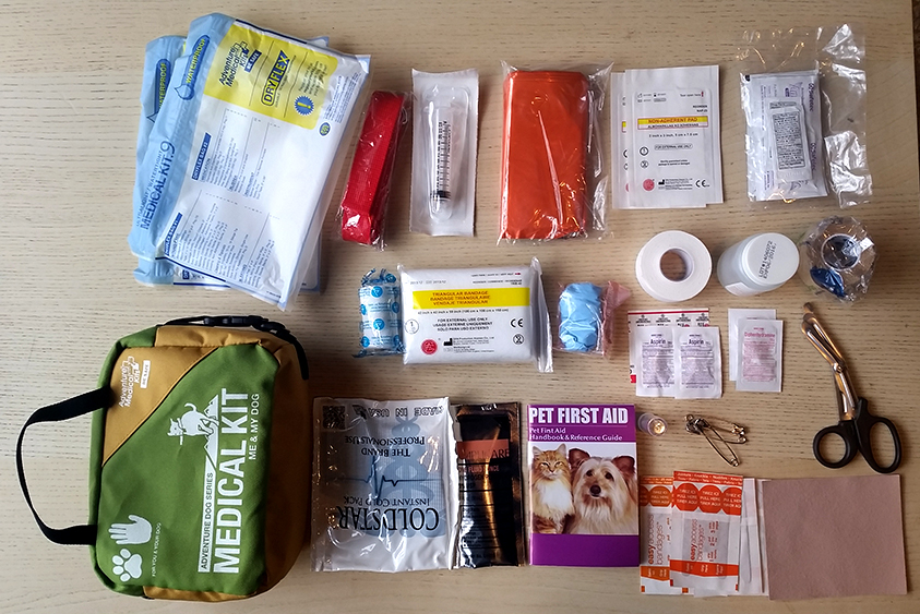 Adventure Medical Kits Dog Pet First Aid Kit Contents