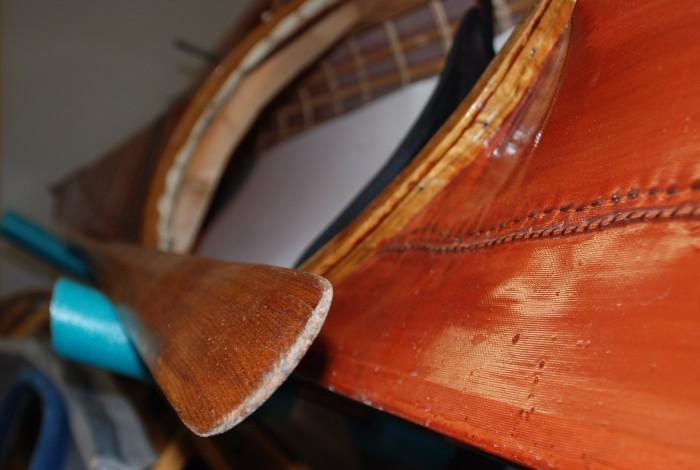 Closeup Kayak