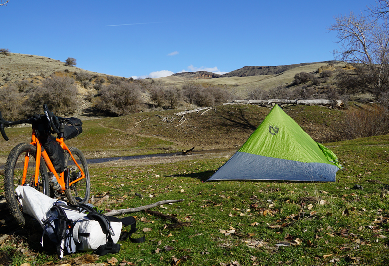 NEMO Bikepacking Camp Apollo Tent