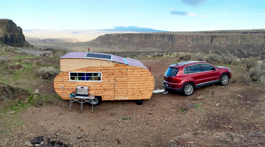 Wood Panel Camper Makes Sustainable Statement Gearjunkie