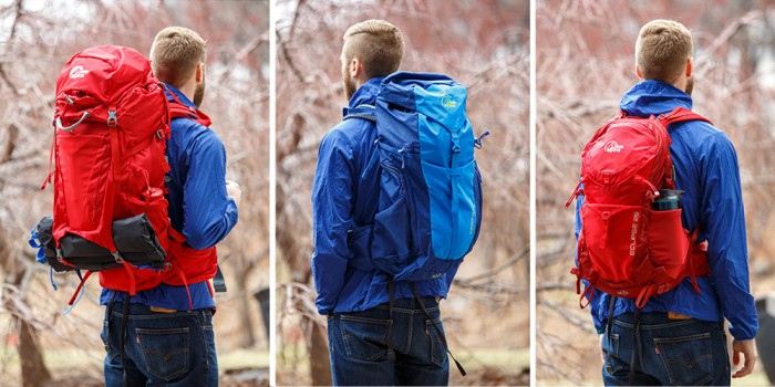 different lowe alpine packs