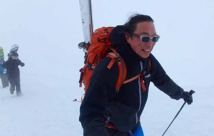Japan sidecountry skiing