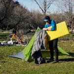 Nemo bike packing camping kit
