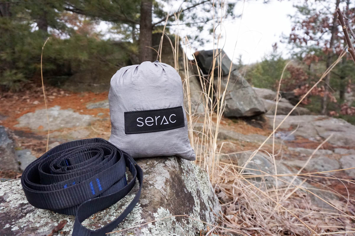 Serac Hammock and Straps_