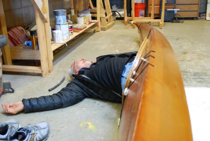 Tony Lying on the Job