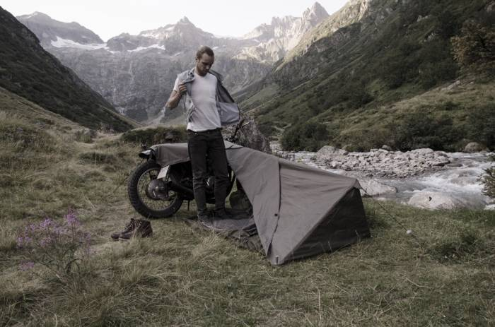 Made from tough (but heavy) Cordura instead of the ripstop nylon found in most tents and bivy sacks the Bivouac can be adjusted to fit the height of any ... & A Bivouac For Minimalist Motorcycle Tours